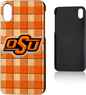 Keyscaper NCAA Oklahoma State Cowboys Apple iPhone Bamboo Case, Wood, iPhone X/XS