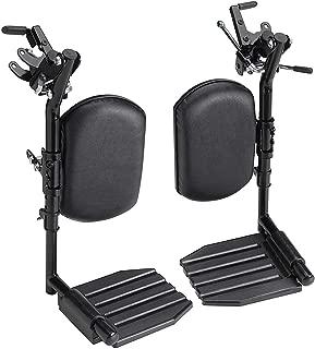 Elevating Leg Rest Aluminum Footplates & Calf Pads