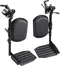 Elevating Leg Rest Aluminum Footplates & Calf Pads