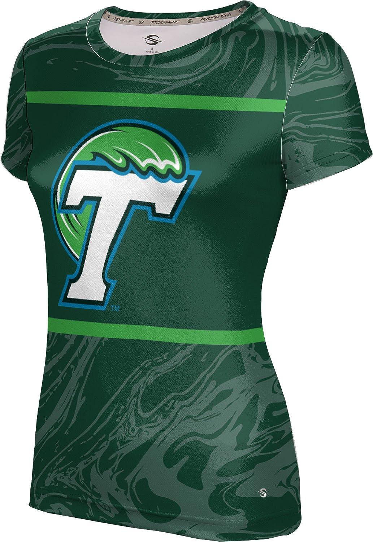 ProSphere Tulane University Girls' Performance T-Shirt (Ripple)