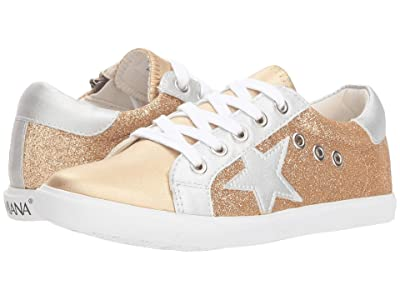 Amiana 15-A5506 (Toddler/Little Kid/Big Kid/Adult) (Gold Multi Glitter/Gold) Girl