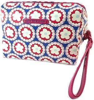 Agatha Ruiz de la Prada [P1312] - Makeup bag 'Agatha Ruiz de la Prada' blue red pink - 21x13x12 cm.