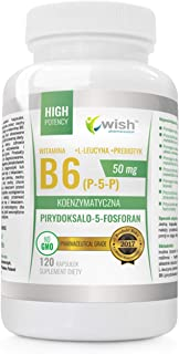 Wish Pharmaceutical Vitamine B6 (P-5-P) 50mg Paquete