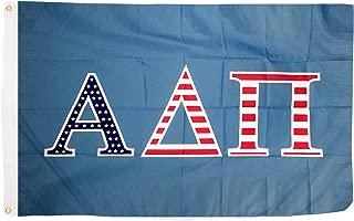 Alpha Delta Pi USA Letter Sorority Flag Greek Letter Use as a Banner Large 3 x 5 Feet Sign Decor ADPi