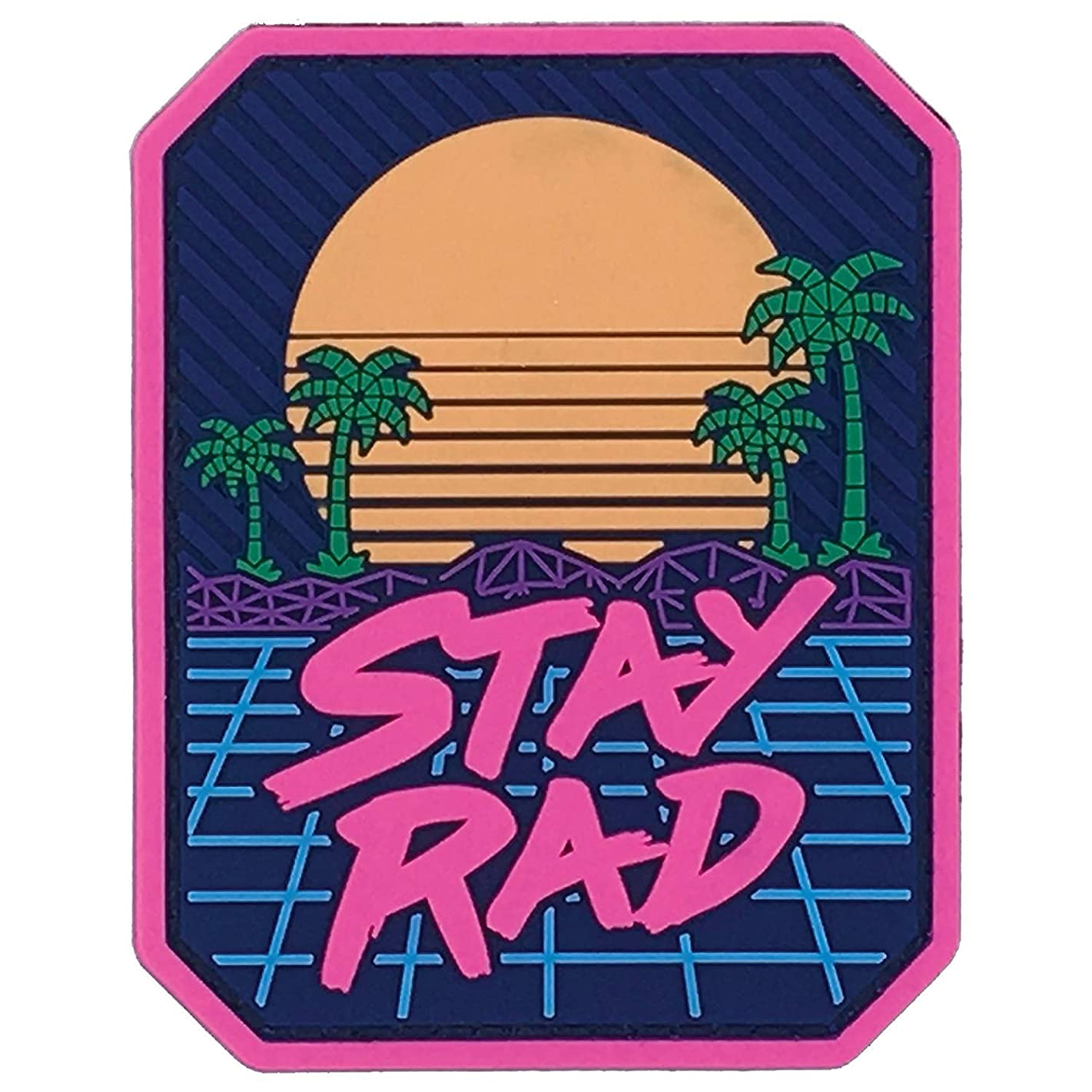 MilSpec Monkey Stay Rad PVC Patch
