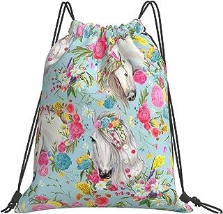 قوس قزح زهرة الرباط حقائب الظهر الصالة الرياضية الرياضة سلسلة حقائب الكتف للرجال النساء الأطفال