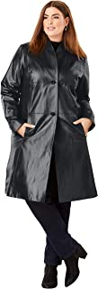 womens leather swing coats