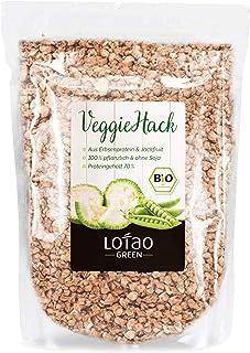 Lotao Jackfruit Veggie-Hack Bio (1000 g) - Vegane Variante zu Hackfleisch - nachhaltig, vegan & hochwertig.