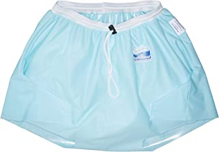 Sitz Bath Shorts - Women/Men - Wearable Soaking Garment; for Shower, On Toilet, or Bath Chair (Men-Waist 40-44, Upper Thigh 25-27, Seaspray)