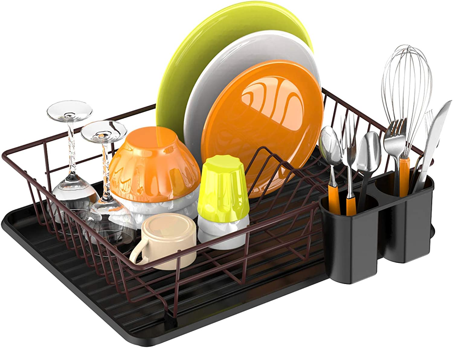Dish Drying Rack Ace Teah with Drainer Drain SEAL limited product Boa Small Cheap mail order shopping