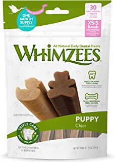 WHIMZEES WHZ831 Puppy Dental Treats for Extra Small/Small Puppies, 224g,7.9oz