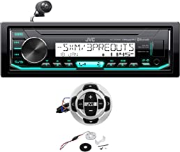 JVC KD-X35MBS Digital Media Marine Bluetooth Receiver iPhone/Sirius XM + Remote