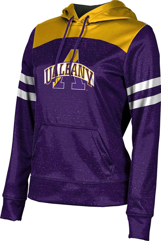 ProSphere University at Albany Girls' Pullover Hoodie, School Spirit Sweatshirt (Gameday)