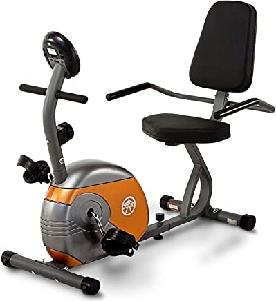 23d557389c9 Marcy Recumbent Exercise Bike with Resistance ME-709