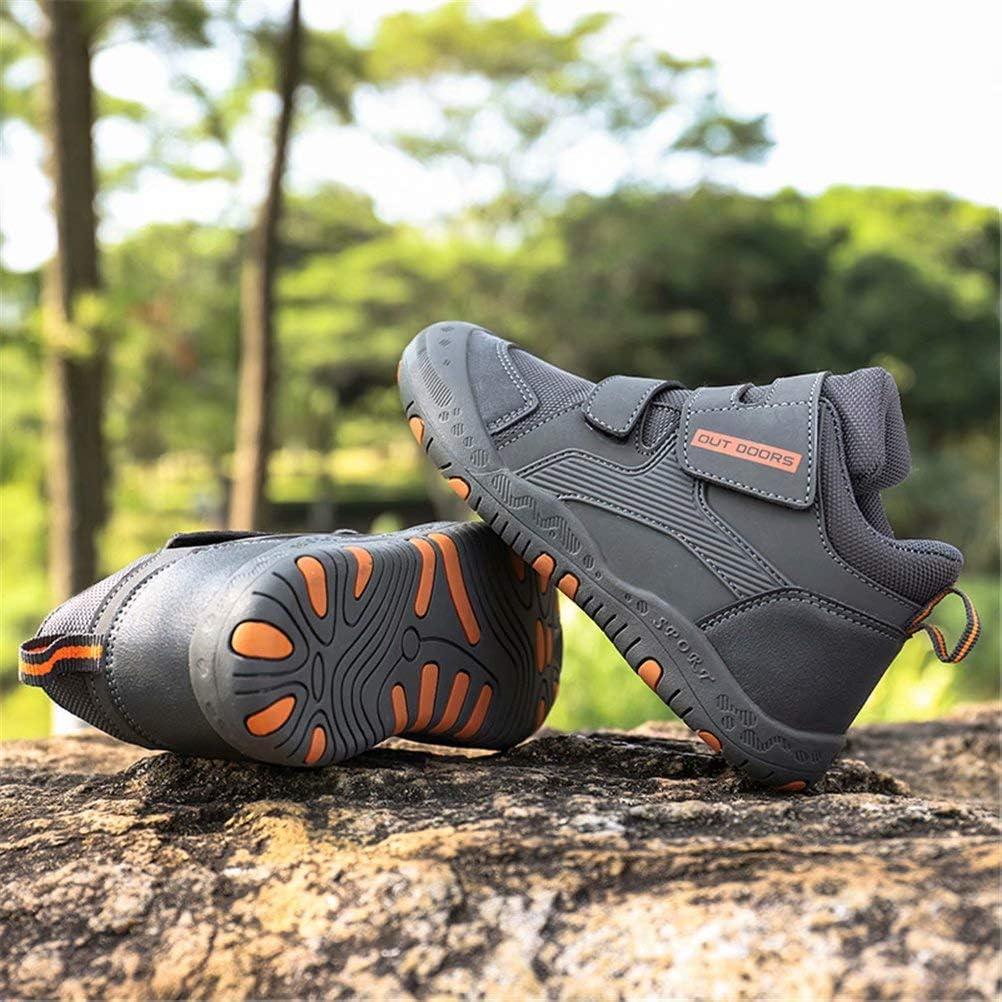 Enfant Gar/çon Chaussures de Randonn/ée Montantes Antid/érapant Trekking Chaussures de Sport Fille Running L/ég/ère Ext/érieur 25-35