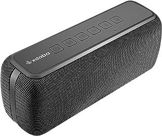 xdobo X8 ブルートゥーススピーカー 60w大音量 超重低音 防水 Bluetoothスピーカー デュアルパッシブラジエーター スマホスピーカー TWS 2台同時 ワイヤレススピーカー スマートフォンスピーカー 黒 (X8-60W(ブラック))