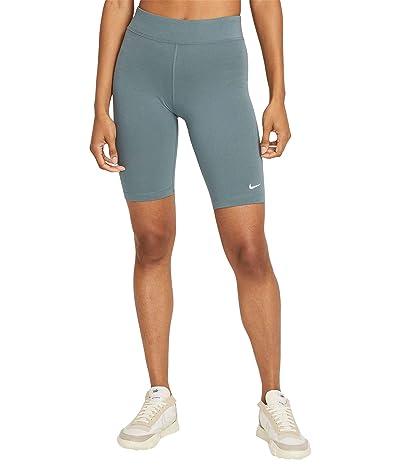 Nike NSW Essential Bike Shorts LBR Mid-Rise (Hasta/White) Women