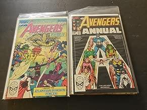 10 Avengers Annuals #12-13, 15-23 Bronze - Copper Age Marvel Comics
