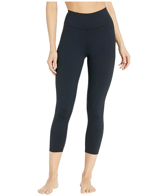 manduka Essential Cropped Leggings (Black) Women