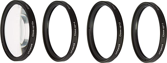 Polaroid Optics 52mm 4-Piece Filter kit Set for Close-Up Macro Photography; Includes +1, +2, +4 & +10 Diopter Filters & Nylon Carry Case – Compatible w/ All Popular Camera Lens Models