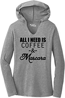 Best coffee and mascara t shirt Reviews