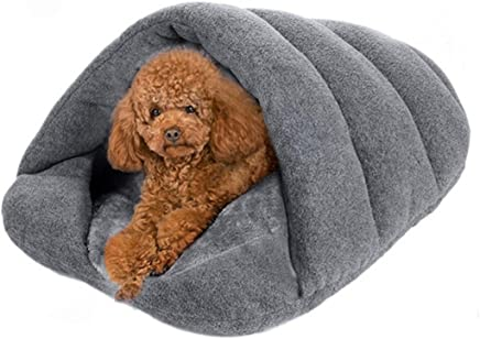 Heyuni. Pet Dog Cat Bed Warm House Sleeping Bag Sleep Zone For Puppy Cat Rabbit Small Animals Shearling Bed,38*48cm