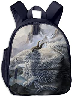 Ice Dragon Child Novelty Book Backpack For Students