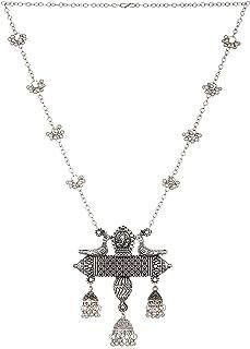 U Uzan B2 Fashion Jewellery Stylish Antique Designer Jewellery Necklace Set for Women and Girls