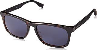 Boss Orange by Hugo Boss Rectangle Sunglasses for Unisex - Purple Lens