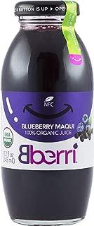 Bberri Juice (Blueberry & Maquiberry 100% Organic) Pack of 3 x 8.2 fl oz