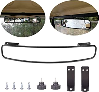 Extra Wide Panoramic Rear View Mirror Golf Cart Rear View Mirror Fits EZGO Club Car Yamaha