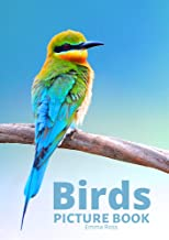 Birds: A picture book Gift for Seniors with Dementia or Alzheimer's patients Large Print (8.5 x 11 inches)