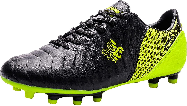 Saekeke Soccer Shoes Kids Boys 保障 Trainin Professional FG TF 18%OFF Cleats