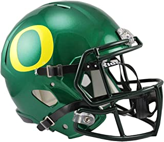 Sports Memorabilia Riddell Oregon Ducks Revolution Speed Full-Size Replica Football Helmet - College Replica Helmets