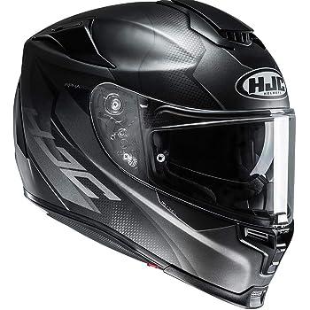 Schwarz Gr/ö/ße XXL HJC Motorradhelm
