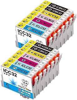 エプソンIC32互換インクカートリッジ 残量表示機能付 IC32(BK4/C2/M2/Y2/LC2/LM2) 6色/14本セットepson【対応プリンタ】 PM-A700/A750/A850/A870/A890/D600/D750/D770/D...