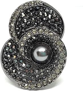 Lia Sophia Jenny Kiam Family Ring Size 9