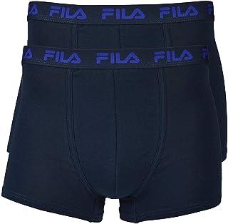 3dc1f0a434 FILA 2er PACCO - Uomo Base Boxer, cotone elasticizzato logo, fu5004