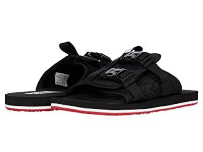 The North Face Eqbc Slide (TNF Black/Fiery Red) Men