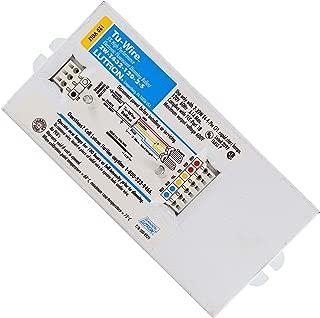 Lutron 2W-T432-120-2-S Tu-Wire Compact Fluorescent Dimming Ballast, 2-Lamp, 32W, T4, 120V