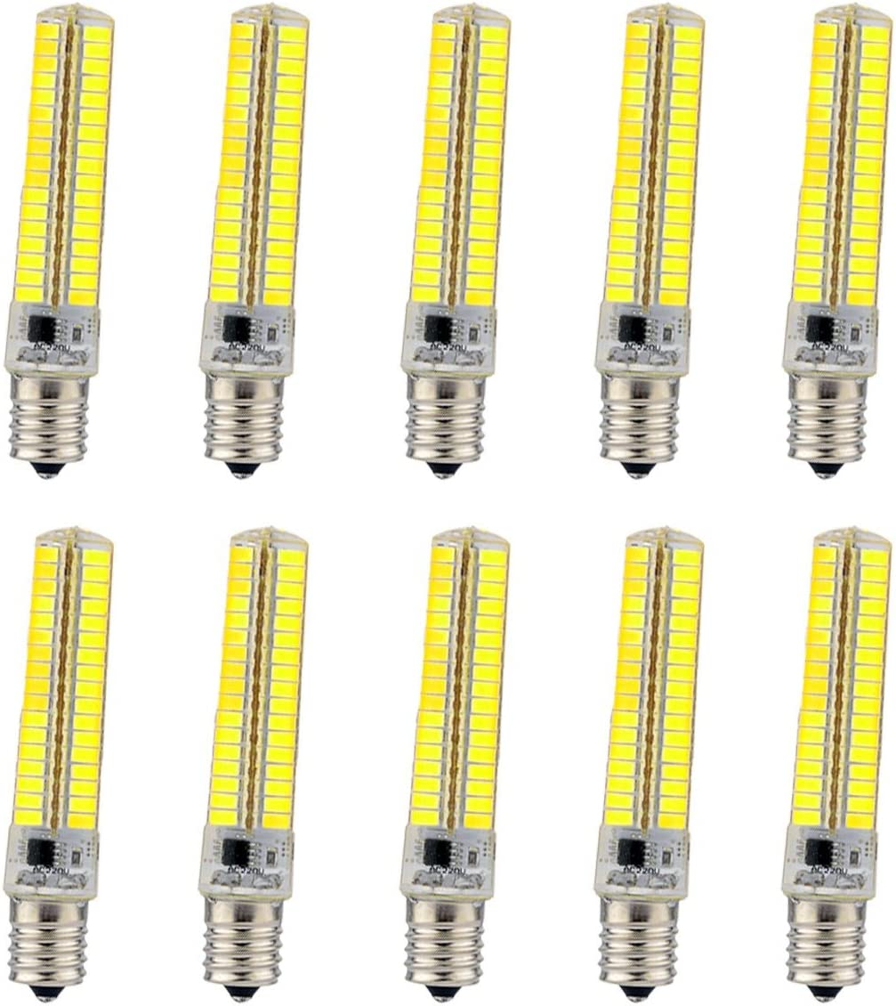 YEZIQ LED Bulbs Dimmable E17 7W Ranking TOP7 136 SMD Wh 600-700 5730 Warm Japan Maker New LM