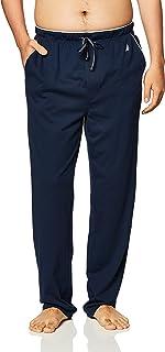 Nautica Men's Soft Knit Sleep Lounge Pant Pajama Bottom, Navy, XX-Large