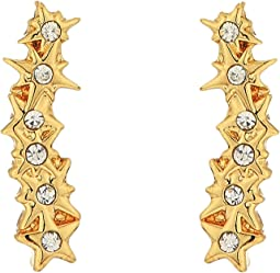 Rebecca Minkoff - Stargazing Ear Crawler Stud Earrings