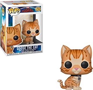 Funko Captain Marvel: Goose The Cat, Figurina con cabeza oscilante (426)