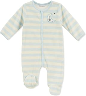 absorba Baby Boys Footie-Velour