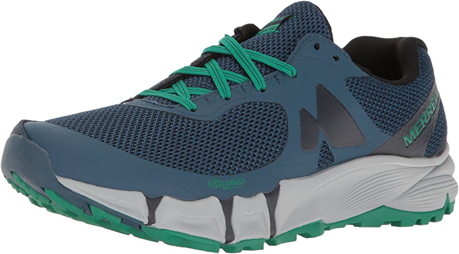 Merrell Men's Agility Charge Flex Trail Runner, Navy, 11.5 M US