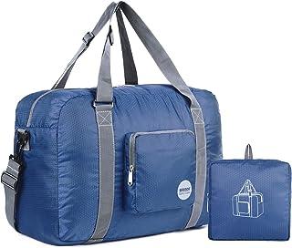 5f8a74f56c WANDF Foldable Travel Duffel Bag Sac de Voyage Pliable Sac de Sport Gym  Résistant à l