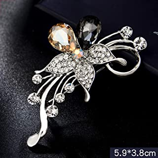 SHUZHENLIAN Autumn and winter brooch ladies brooch pin fixed clothes coat sweater coat creative accessories