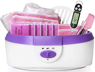 Paraffin Wax Machine for Hand and Feet - Paraffin Wax Bath BTArtbox Paraffin Wax Warmer with 1000g Paraffin Wax 200pcs Lin...