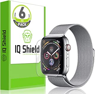IQ Shield Screen Protector Compatible with Apple Watch Series 4 (40mm)(6-Pack)(Max Coverage) Anti-Bubble Clear Film